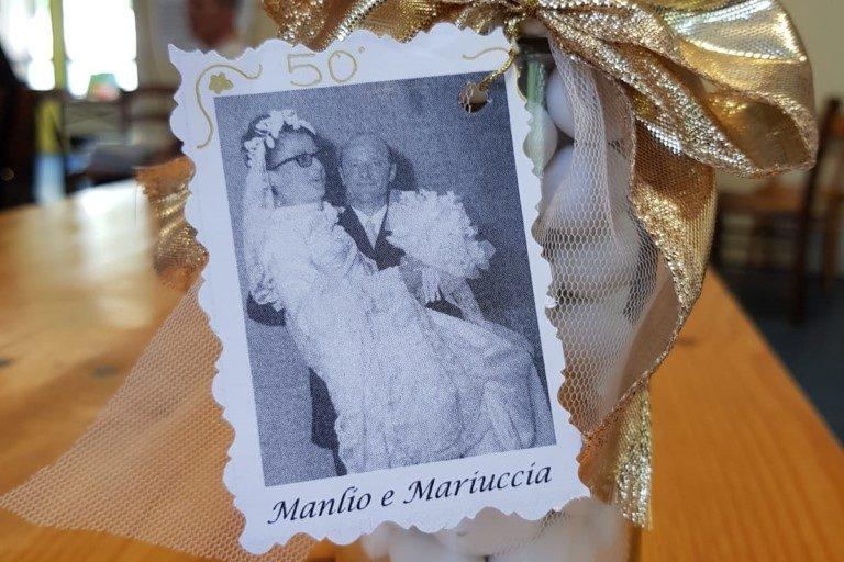 50° anniversario di matrimonio